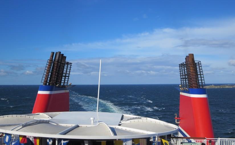 Dag 1 Zaterdag 2 juli 2016: Ferry van kiel naar goteborg